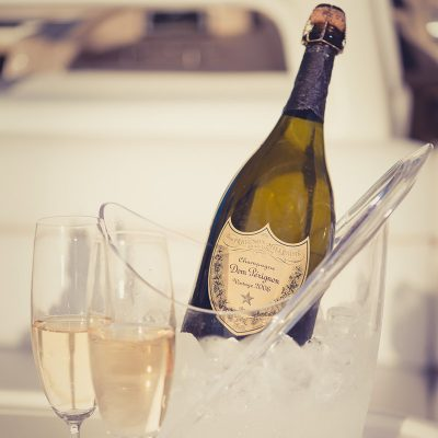 Gallery - champagne for guests
